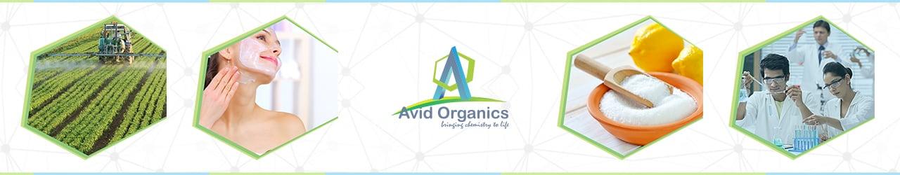 Avid Organics Factory Banner