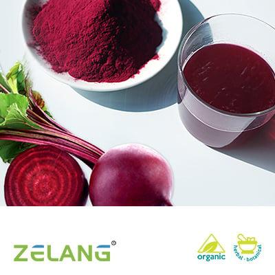 Organic Red Beet Juice Powder by Zelang
