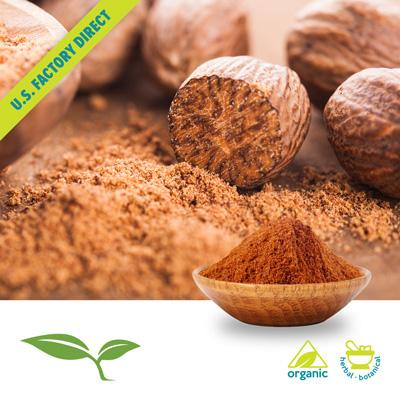 Nutmeg (Ground, Organic) by American Botanicals