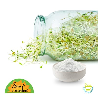 Organic Alfalfa Sprout Powder by Sungarden