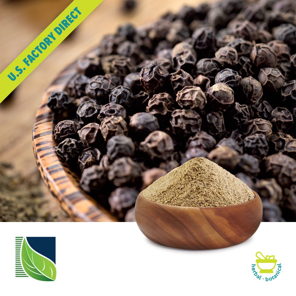 Black Pepper Extract 95% Piperine by Botanic Healthcare