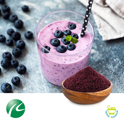 Blueberry Juice Powder by Hua Kang Biotechnology