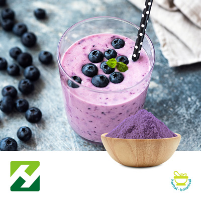 Blueberry Juice powder (25kg Drum) by Organic Herb Inc.