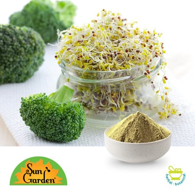 Organic Broccoli Sprout Powder by Sungarden