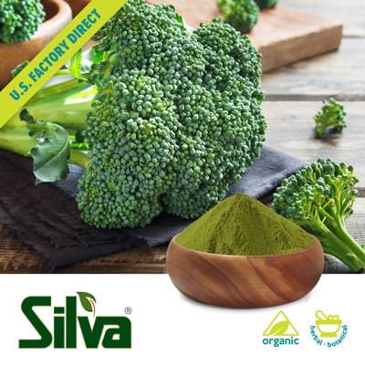 Organic Broccoli Powder -60 by Silva International