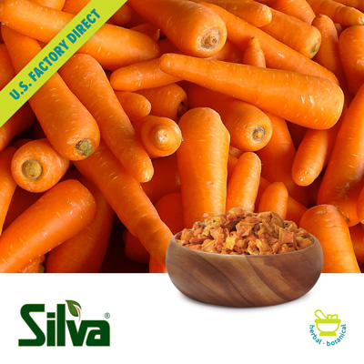 Carrot Granules 8-40 Mesh by Silva International