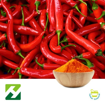 Cayenne Pepper Extract 100000 SHU (25kg Drum) by Organic Herb Inc.