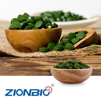 Chlorella Tablets(Non-Broken Cell) by Yunnan Baoshan Zeyuan Microalgae Health Technology Co.,Ltd