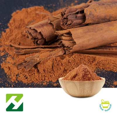 Cinnamon Bark Extract 4:1 (25kg Drum) by Organic Herb Inc.