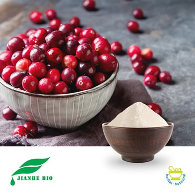 Cranberry P.E. 10:1 (25kg Drum) by Jianhe Biotech Co., Ltd