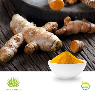 Curcumin Powdered Extract 95%  HPLC by Green Hills Spices & Extracts Pvt Ltd.