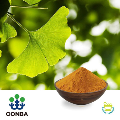 Ginkgo Biloba Leaf  Extract USP40 pesticide free by Zhejiang Conba Pharmaceutical Co., Ltd