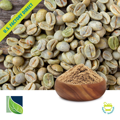 Green Coffee Bean Extract 50% Chlorogenic Acid by Botanic Healthcare