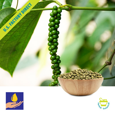 Dehydrated Green Peppercorns by Sark Spice Products Pvt. Ltd.