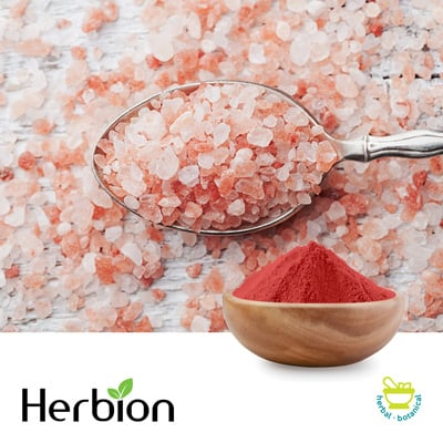 Dark Pink Himalayan Salt X-Fine (0.3-0.5 mm) by Herbion Naturals