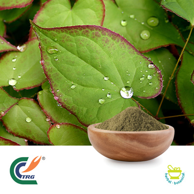 Horny Goat Weed Extract 20% Icariin by Hanzhong Trg Bioctech Co., Ltd.