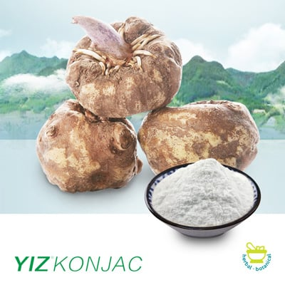 Konjac Gum (Glucomannan 95%) (YZ-J-36) by Yizhi Konjac