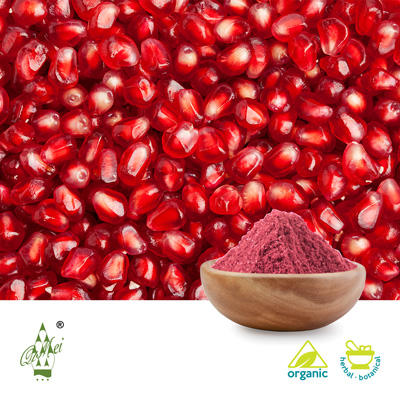 Organic Pomegranate Juice Powder by Qimei Industrial Group Co.,Ltd