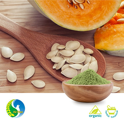 Organic Pumpkin Seed Protein 70% 300 Mesh by Panjin Hetian Food