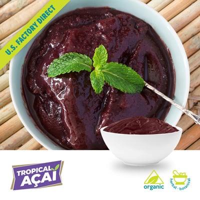 Organic Acai Pulp by Tropical Acai