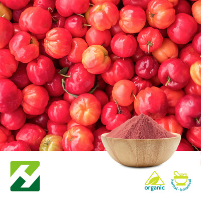 Organic Acerola Cherry Extract 27% Vitamin C (25kg Drum) by Organic Herb Inc.