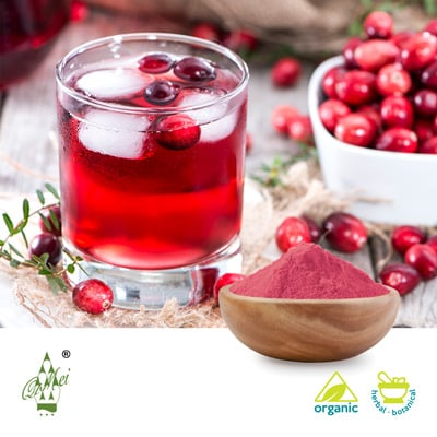 Organic Cranberry Juice Powder by Qimei Industrial Group Co.,Ltd