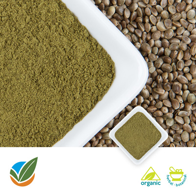 Organic Hemp Protein 50% by Hemp Production Services