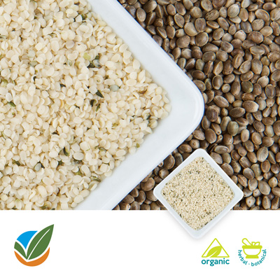 Organic Hulled Hempseed by Hemp Production Services