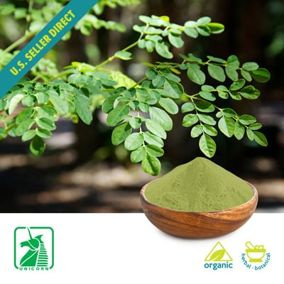 Organic Moringa Leaf Powder by Unicorn
