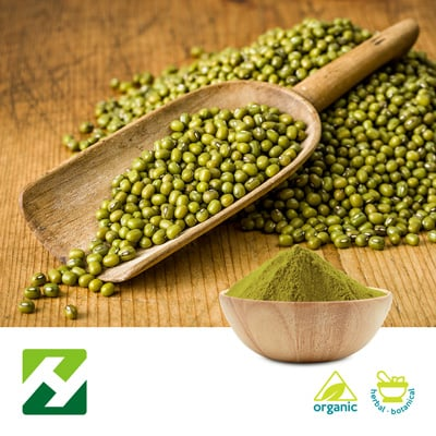 Organic Mung Bean Extract 10:1 (25kg Drum) by Organic Herb Inc.