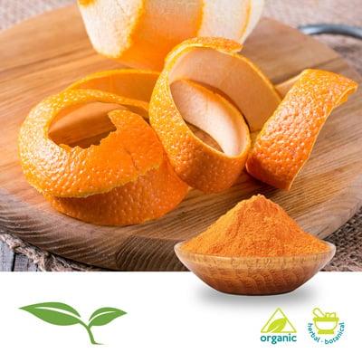 Orange Peel Powder Organic by American Botanicals