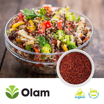 Organic Red Quinoa by Olam