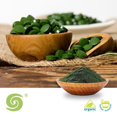 Organic Spirulina Powder by Dongtai City Spirulina