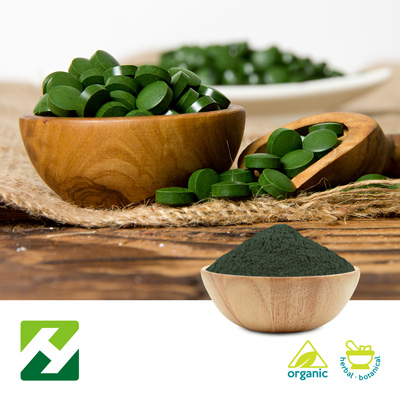 Organic Spirulina Powder (25kg Drum) by Organic Herb Inc.