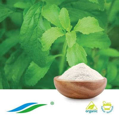 Organic Stevia Extract RA98% HPLC by Hunan NutraMax Inc.