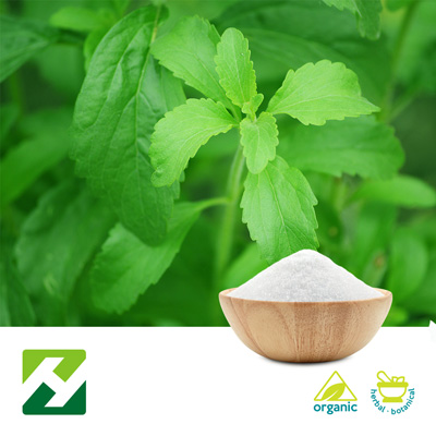 Organic Stevia Extract 98% Rebaudioside A (25kg Drum) by Organic Herb Inc.
