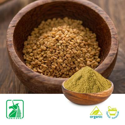 Organic Fenugreek powder by Unicorn