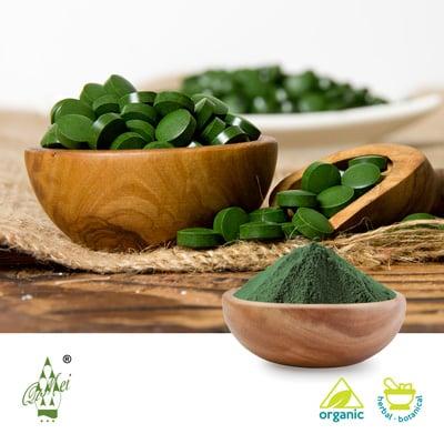 Organic Spirulina Powder by Qimei Organic