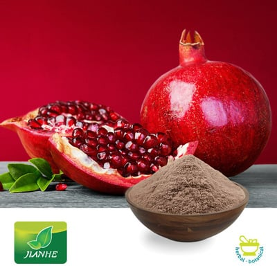 Pomegranate P.E. 50% Polyphenols (25kg Drum) by Shaanxi Jianhe Bio-Technology