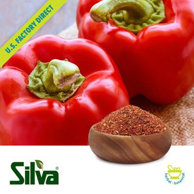 Red Bell Pepper Granules +8-40 by Silva International