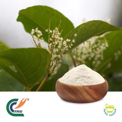 Resveratrol 98% by Hanzhong Trg Bioctech Co., Ltd.