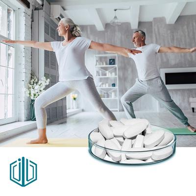 SAMe SD4 Enteric Coated Tablet 400mg by Jincheng Pharma