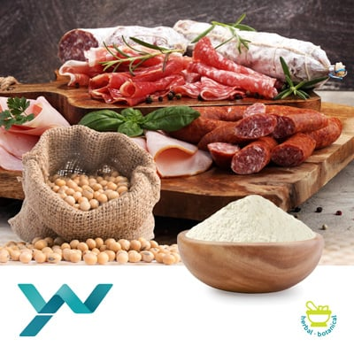 Soy Protein Isolate 90% (YP901B) by Yuwang Eco.