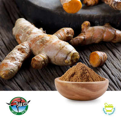 Turmeric polysaccharides 30% UV by Ningbo Traditional Chinese Pharmaceutical Corp.