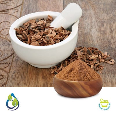 Cramp Bark powder steam treated by S.A.HerbalBioactives