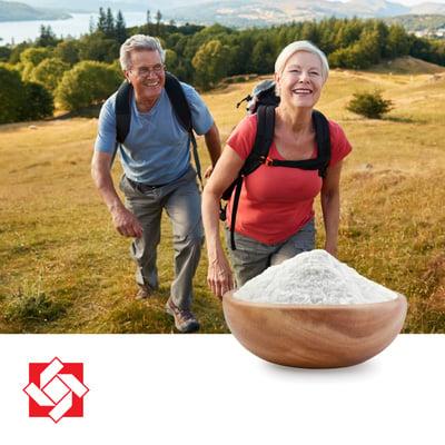 Vitamin K2 MK-7 1.3% Powder with DCP by Xiamen Kingdomway Biotech. Co., Ltd.