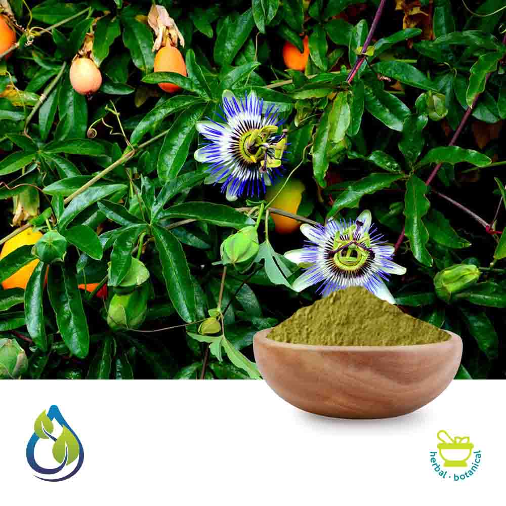 Passiflora Powder Steam Treated by S.A.HerbalBioactives