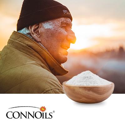Wild Alaskan Salmon Oil Powder 50% on Tapioca Maltodextrin by Connoils