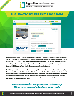 U.S. Factory Direct Program