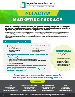 Standard Marketing Package